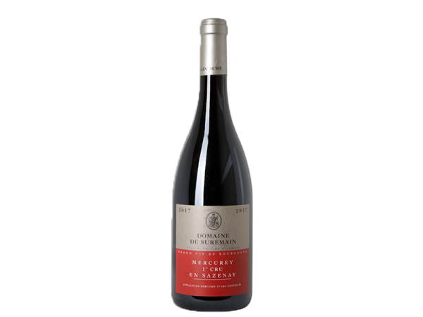 Domaine De Suremain - Mercurey 1er cru en Sazenay rouge 2017 - D'or et de vins - Livraison de vins d'exception à domicile