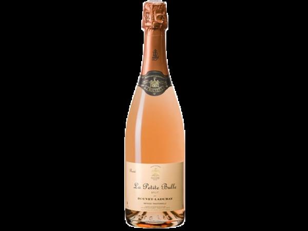 La petite bulle Bouvet Ladubay rosé - D'or et de vins - Livraison de vins d'exception à domicile