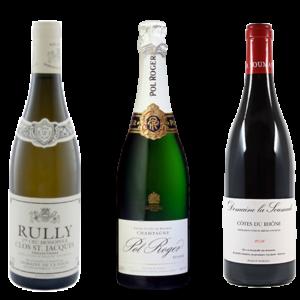 Coffret Tour de france - D'or et de vins - Livraison de vins d'exception à domicile