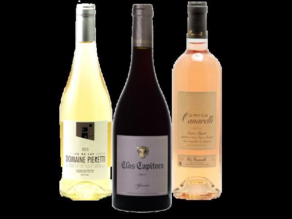 Coffret découverte vins corses - Livraison de vins de vins d'exception à domicile