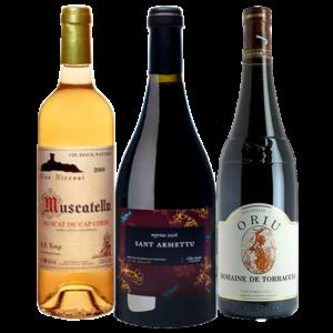 Coffret Exception vins corses - Livraison de vins de vins d'exception à domicile