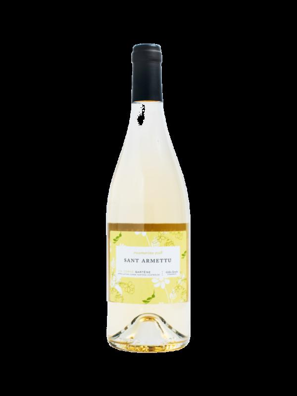 Domaine Sant Armettu - Rosumarinu blanc 2019 - d'or et de vins -Livraison de vins d'exception à domicile