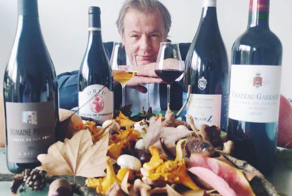 Jean-luc Jamrozik accord Vins et Champignons