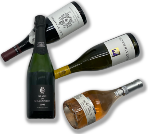 Conseil, vente et livraison de vins d'exception à domicile